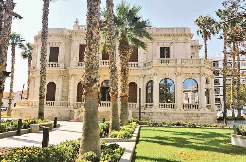 pilavakis-library-exterior-limassol-cyprus
